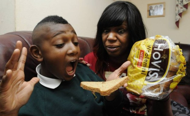 Mum horrified after her son discovers a spider in a loaf of Hovis